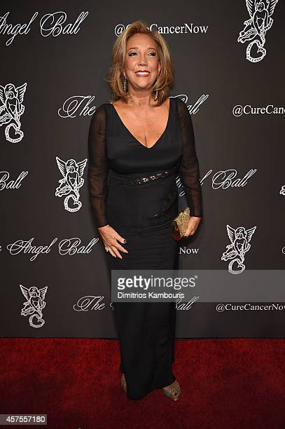 Gabrielle's Angel Foundation President and Cofounder Denise Rich attends Angel Ball 2014 hosted by Gabrielle's Angel Foundation at Cipriani Wall...