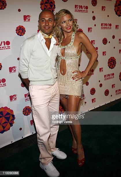 Gaby Alvarez and Sofia Zamolo during MTV Video Music Awards Latin America 2006 - Red Carpet at Palacio de los Deportes in Mexico City, Mexico.