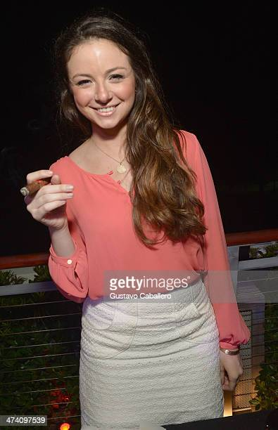 Gaby Avila attends Cigars Spirits Presented By Montage Hotels Resorts Brought To You By Cigar Aficionado And Whisky Advocate during the Food Network...
