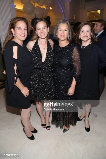 Gaby Baron Katie Dinan Elizabeth Miller and Didi Wallerstein attend Museum Of The City Of New York Chairman's Leadership Awards Dinner at Museum of...