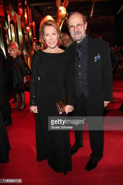 Gaby Dohm and her partner Peter Deutsch during the 71tst Bambi Awards at Festspielhaus BadenBaden on November 21 2019 in BadenBaden Germany