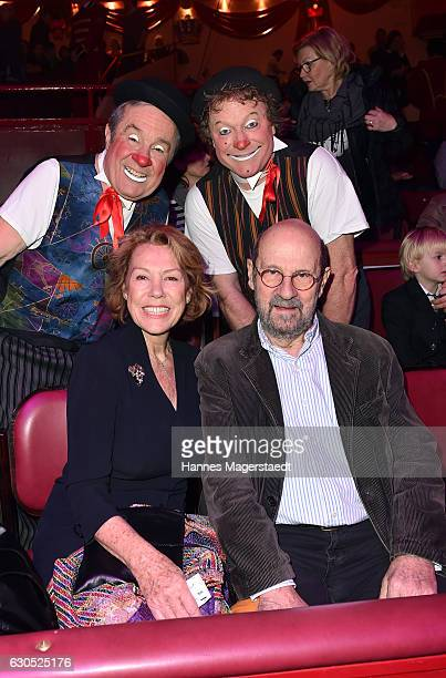 Gaby Dohm and Peter Deutsch during the premiere of 'Tierisch gut' at Circus Krone on December 25 2016 in Munich Germany