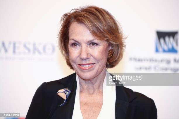 Gaby Dohm attends for the Goldene Kamera on February 22 2018 in Hamburg Germany