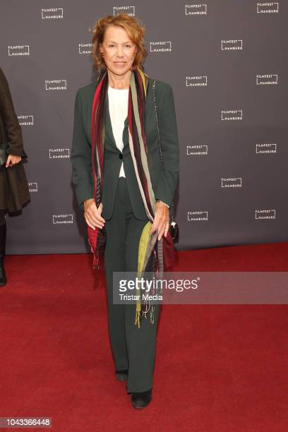 Gaby Dohm attends the 'Der Anfang von etwas' premiere during the Film Festival on September 29 2018 in Hamburg Germany