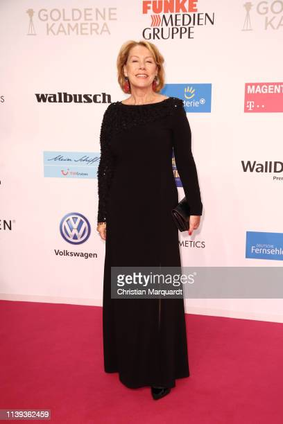 Gaby Dohm attends the Goldene Kamera at Tempelhof Airport on March 30 2019 in Berlin Germany