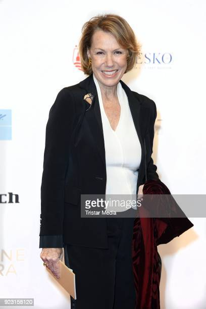 Gaby Dohm attends the Goldene Kamera on February 22 2018 in Hamburg Germany