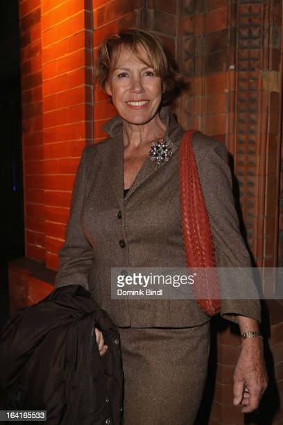 Gaby Dohm attends the Ndf Afterwork Party at 8 Seasons on March 20 2013 in Munich Germany