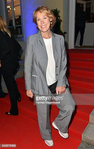 Gaby Dohm attends the UFA Fiction Reception during the Munich Film Festival 2016 at Cafe Reitschule on June 27 2016 in Munich Germany