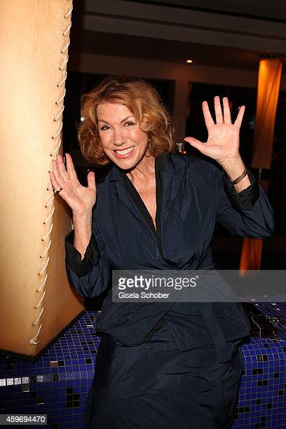Gaby Dohm during the ARD advent dinner hosted by the program director of the tv station Erstes Deutsches Fernsehen at Hotel Bayerischer Hof on...