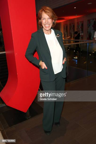 Gaby Dohm during the opening night of the Munich Film Festival 2018 at Mathaeser Filmpalast on June 28 2018 in Munich Germany