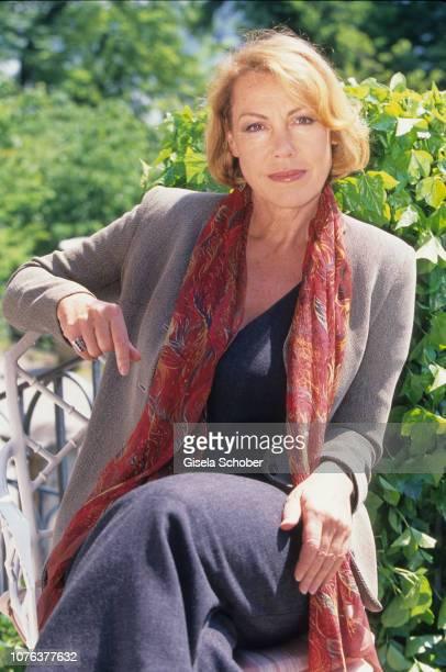 Gaby Dohm poses for a portrait in May 1999 in Starnberg Germany