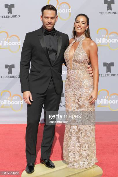 Gaby Espino and guest attend the 2018 Billboard Latin Music Awards at the Mandalay Bay Events Center on April 26 2018 in Las Vegas Nevada