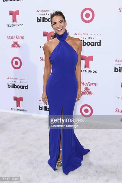 Gaby Espino arrives at 2015 Billboard Latin Music Awards presented bu State Farm on Telemundo at Bank United Center on April 30 2015 in Miami Florida
