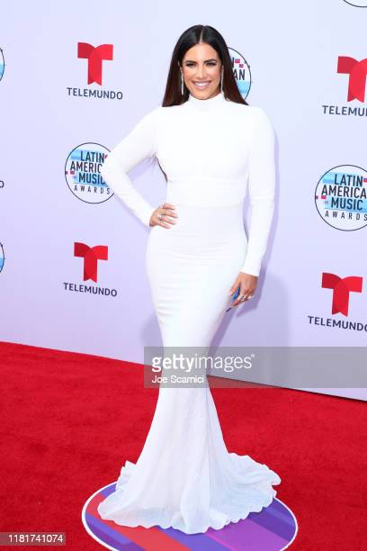 Gaby Espino arrives at the 2019 Latin American Music Awards at Dolby Theatre on October 17 2019 in Hollywood California
