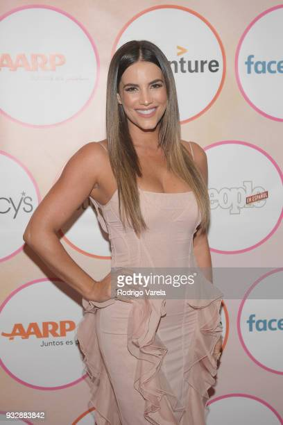Gaby Espino arrives at the People en Espanol's 25 Most Powerful Women Luncheon 2018 on March 16 2018 in Miami Florida