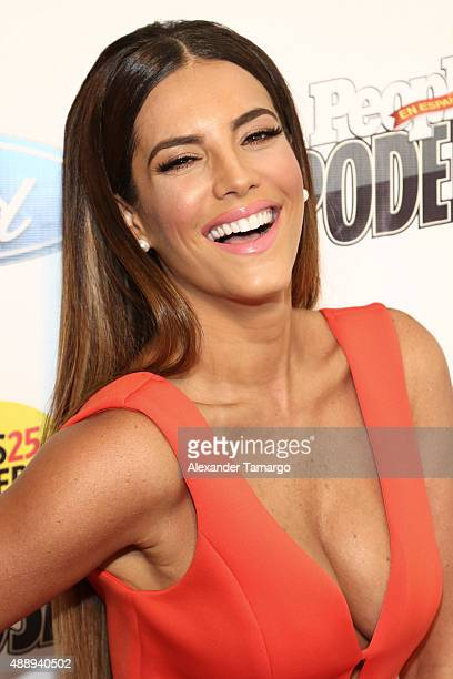 Gaby Espino attends Las 25 Mujeres Mas Poderosas luncheon hosted by People En Espanol at Moore Elastika on September 18 2015 in Miami Florida