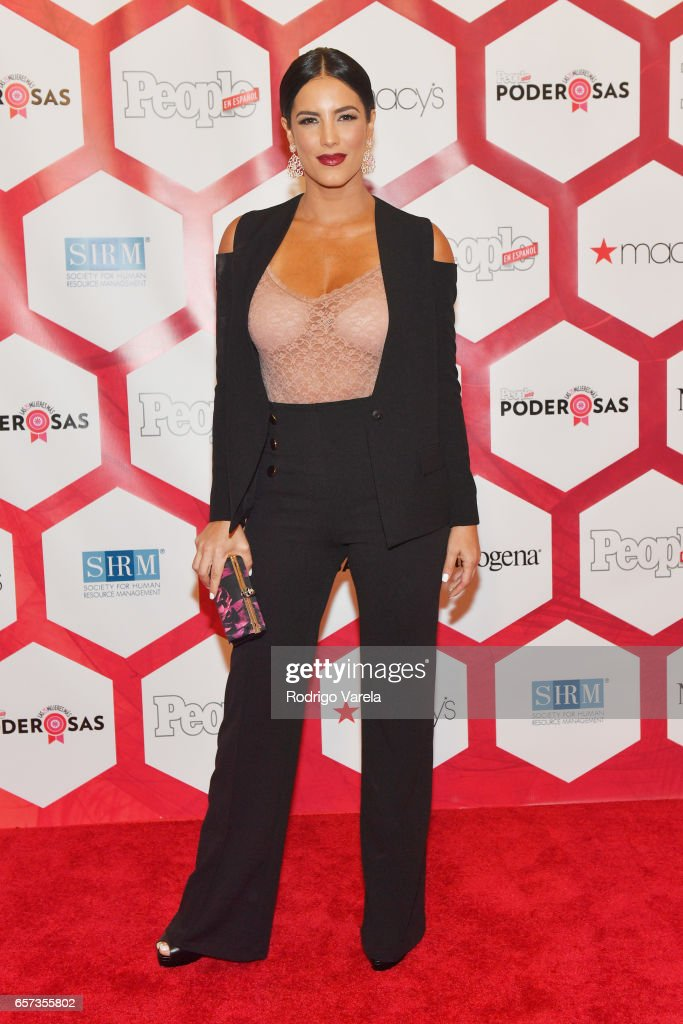 Gaby Espino attends People En Espanol's 25 Most Powerful Women Luncheon 2017 at Hyatt Regency on March 24, 2017 in Coral Gables, Florida.