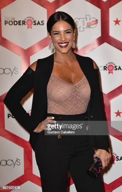 Gaby Espino attends People En Espanol's 25 Most Powerful Women Luncheon 2017 at Hyatt Regency on March 24 2017 in Coral Gables Florida on March 24...