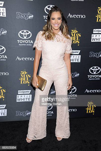 Gaby Espino attends People En Espanol's 50 Most Beautiful at Espace on May 17 2016 in New York City