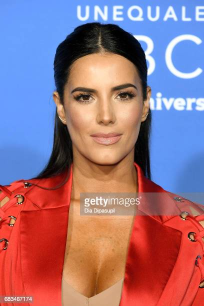 Gaby Espino attends the 2017 NBCUniversal Upfront at Radio City Music Hall on May 15 2017 in New York City