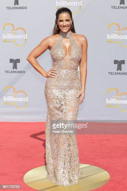 Gaby Espino attends the 2018 Billboard Latin Music Awards at the Mandalay Bay Events Center on April 26 2018 in Las Vegas Nevada