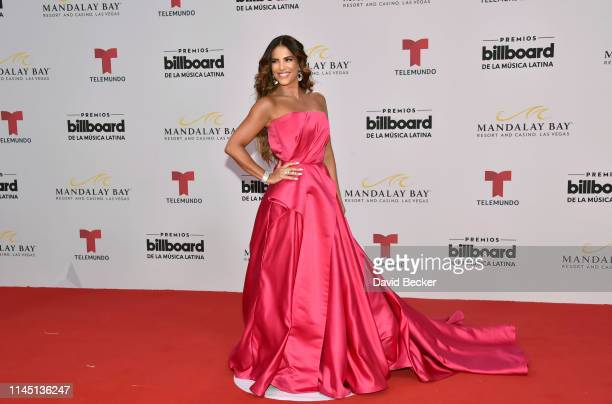 Gaby Espino attends the 2019 Billboard Latin Music Awards at the Mandalay Bay Events Center on April 25 2019 in Las Vegas Nevada