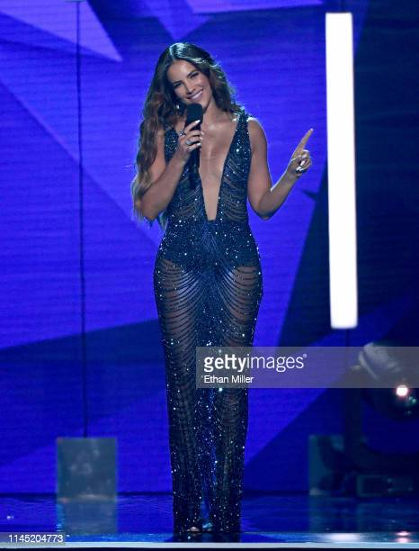 Gaby Espino hosts the 2019 Billboard Latin Music Awards at the Mandalay Bay Events Center on April 25 2019 in Las Vegas Nevada