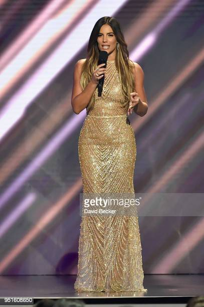 Gaby Espino onstage at the 2018 Billboard Latin Music Awards at the Mandalay Bay Events Center on April 26 2018 in Las Vegas Nevada