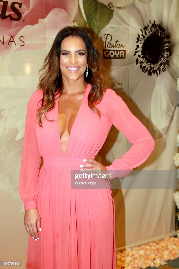 Gaby Espino poses as part of TV y Novelas, 'Divinas y Humanas' special edition celebration on March 22, 2017 in San Juan, Puerto Rico.