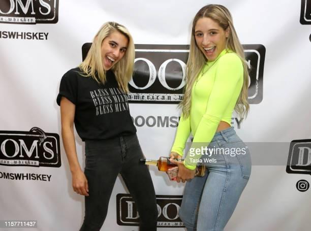 Gaby G and Abella Danger attend Doom's Whiskey Tasting on June 22 2019 in Glendale California
