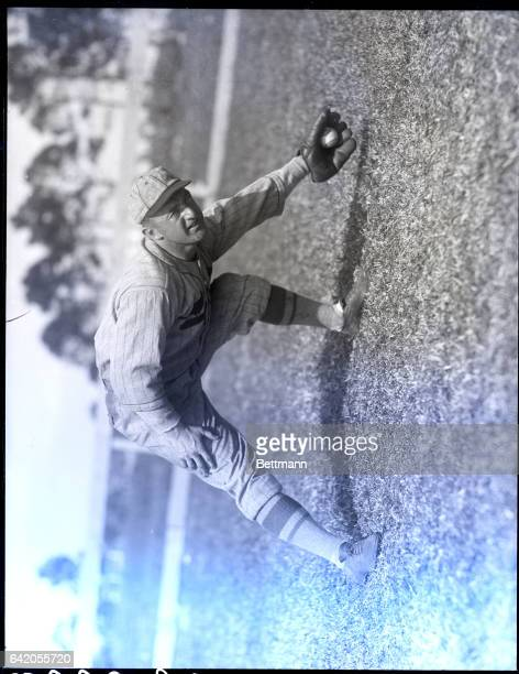 Gaby Hartnett Chicago Cub catcher Waist up photograph of him smiling hands behind back
