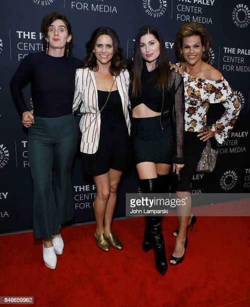 Gaby Hoffman Amy Lancecker Trace Lysette and Alexandra Billings attend The Paley Center for Media Presents Transparent an evening with The...