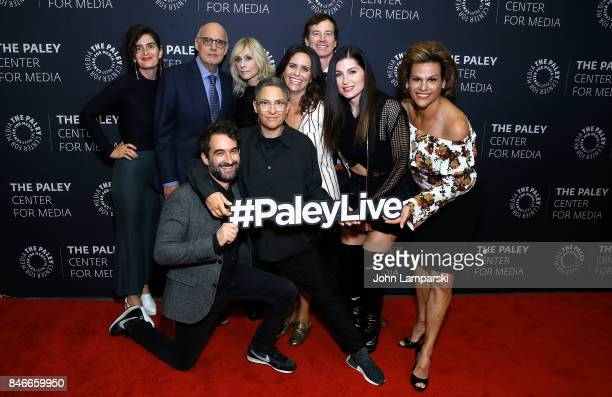 Gaby Hoffman Jeffrey Tambor Judith Light Rob Huebel Jay Duplas Jill Soloway Amy Landecker Trace Lysette and Alexandra Billings attend The Paley...