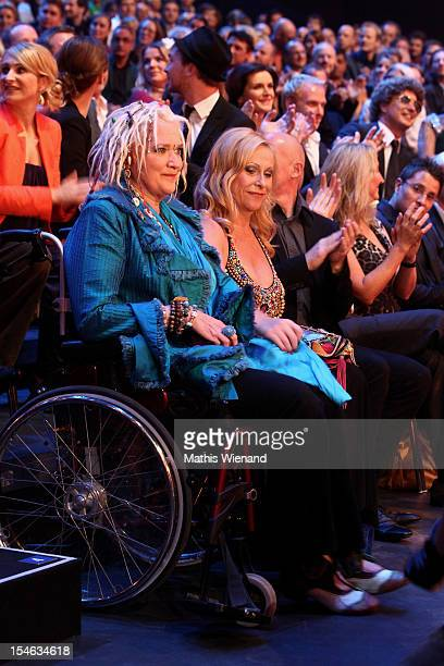 Gaby Koester attends the '16 Annual German Comedy Award' on October 23 2012 in Cologne Germany