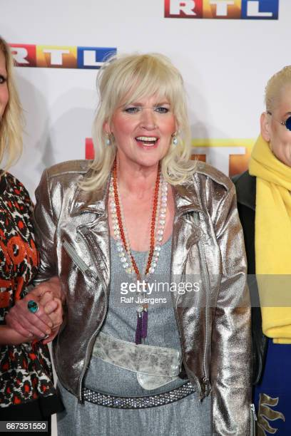Gaby Koester attends the premiere of the film 'Gaby Koester Ein Schnupfen haette auch gereicht' at Residenz Kino on April 11 2017 in Cologne Germany