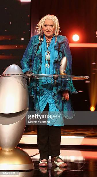 Gaby Koester poses with his award at the the '16 Annual German Comedy Award' on October 23 2012 in Cologne Germany