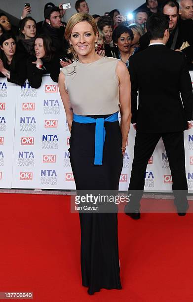 Gaby Logan attends the National Television Awards 2012 at the 02 Arena on January 25 2012 in London England
