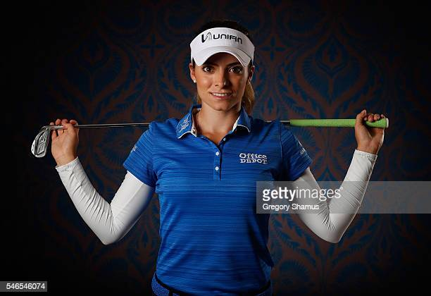 Gaby Lopez of Mexico poses for a portrait prior to the Marathon Classic Presented by Owens Corning and OI at Highland Meadows Golf Club on July 12...