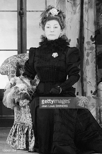 Gaby Morlay in GIGI in France in 1949 The French actress Gaby Morlay in the film GIGI by Jacqueline Audry