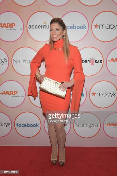 Gaby Natale arrives at the People en Espanol's 25 Most Powerful Women Luncheon 2018 on March 16 2018 in Miami Florida