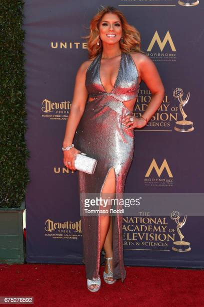 Gaby Natale attends the 44th Annual Daytime Emmy Awards at Pasadena Civic Auditorium on April 30 2017 in Pasadena California