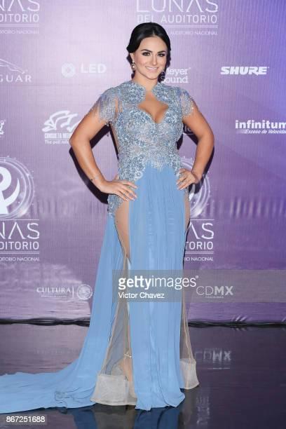 Gaby Roma attends Las Lunas del Auditorio Nacional 2017 at Auditorio Nacional on October 25 2017 in Mexico City Mexico