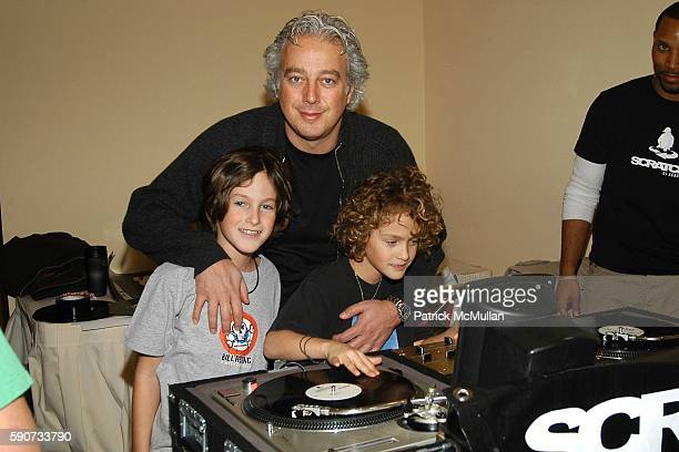 Gaby Rosen Aby Rosen and Charlie Rosen attend The 6th Annual TJ Martell Foundation 'Family Day' Indoor Carnival at Cipriani on March 6 2005 in New...