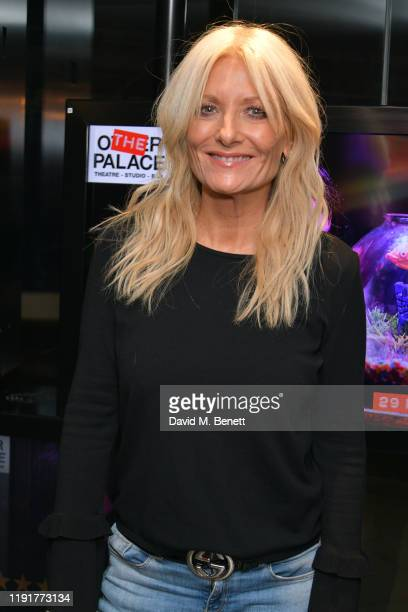 Gaby Roslin attends press night performance of Amelie The Musical at The Other Palace on December 03 2019 in London England