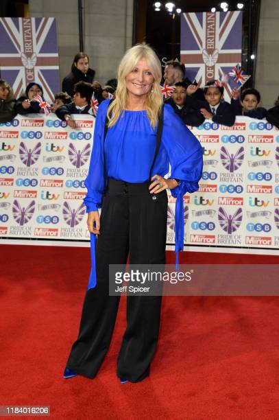 Gaby Roslin attends Pride Of Britain Awards 2019 at The Grosvenor House Hotel on October 28 2019 in London England