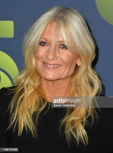 Gaby Roslin attends the Channel 5 2020 Upfront photocall at St Pancras Renaissance London Hotel on November 19 2019 in London England