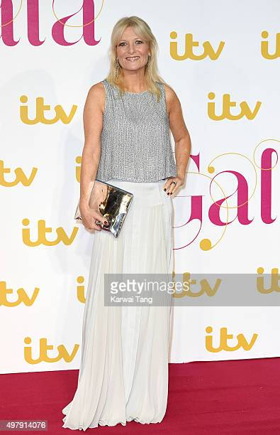 Gaby Roslin attends the ITV Gala at London Palladium on November 19 2015 in London England
