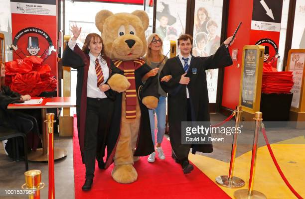 Gaby Roslin attends the launch of The Wizarding World of Harry Potter at Hamleys on July 19 2018 in London England