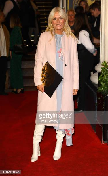Gaby Roslin attends The Lion King 20th anniversary gala performance at Lyceum Theatre on October 19 2019 in London England