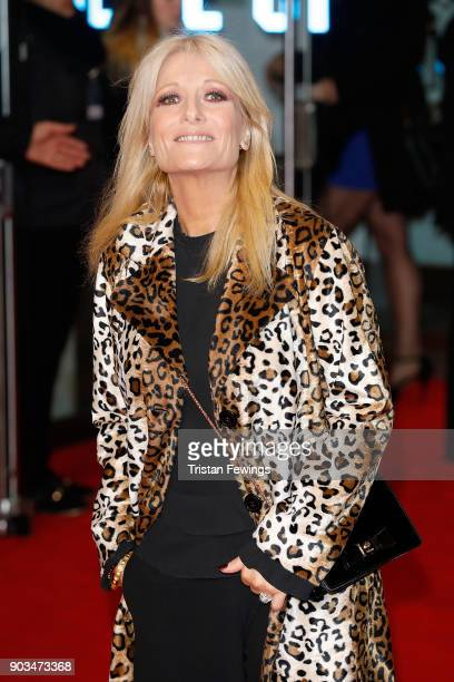 Gaby Roslin attends 'The Post' European Premeire at Odeon Leicester Square on January 10 2018 in London England